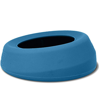 Kurgo Splash Free Wander Bowl best no-spill dog bowl for small dogs