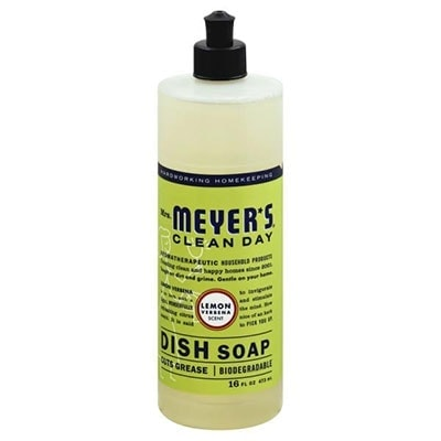 Mrs. Meyers Clean Day dish soap safe for use on dog bowls