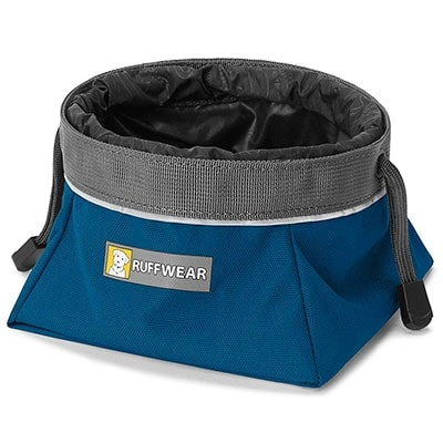 Ruffwear cinch top portable travel dog bowl