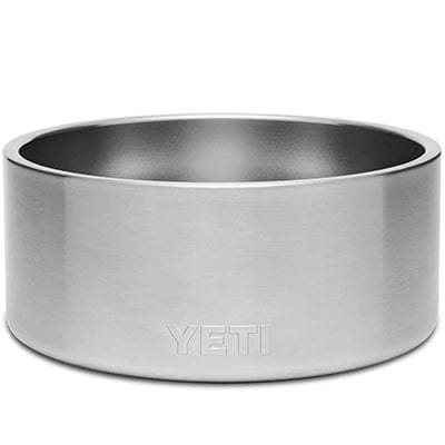 Best premium stainless steel dog bowl Yeti Boomer 8