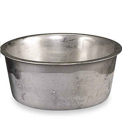 Best stainless steel water bowl - neater brands polar bowl