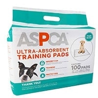 ASPCA Ultra-Absorbent Training Pads Runner Up best Pee Pads For Dogs
