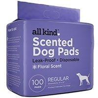 All Kind Floral Scent dog training pads winner of best scented pee pads for for dogs