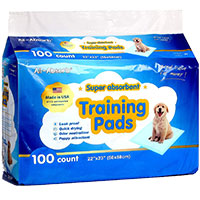 All-absorb Super Absorbent Training Pads Runner Up Best pee pad for dogs