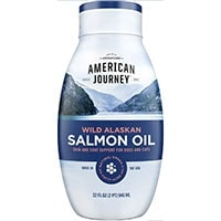 American Journey Wild Alaskan Salmon Oil Liquid Dog Supplement squeeze bottle 32 oz