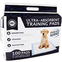 American Kennel Club Ultra Absorbent Training Pads Runner Up Best Pee Pad For Dogs