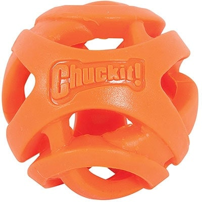 Chuckit! Breath Right best tennis ball alternative for flat faced dogs