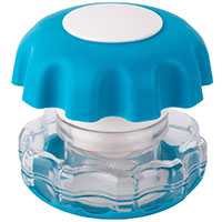 Ezy dose ezy crush pill crusher in blue color