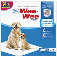 Four Paws Wee-Wee Pads - best pee pads honorable mention