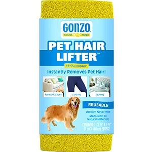 Gonzo Pet Hair Lifter - Winner of best all-around dog hair remover category