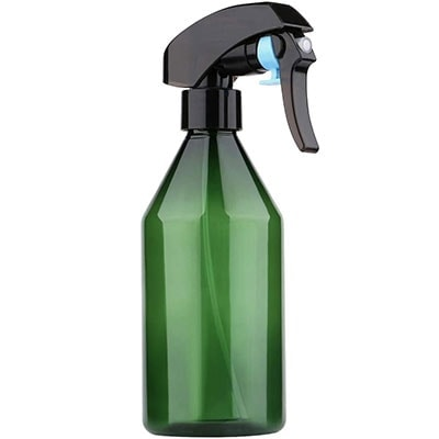 Green Fine mist spray bottle