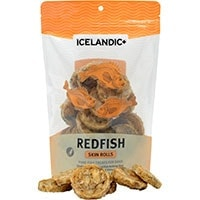 Iclandic+ Redfish Skin Rolls Dog Treat