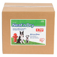 Iris Neat n' Dry Floor Protection And Training Pads - Runner Up Best Dog Pee Pad
