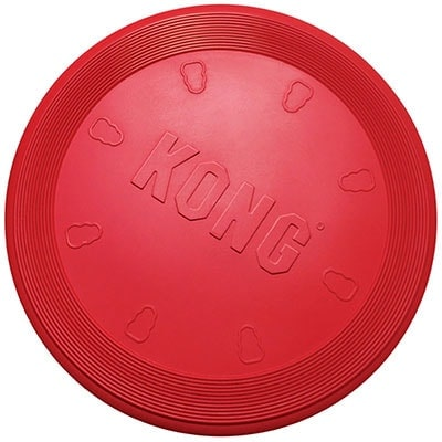 Kong FLyer Red Frisbee - Best Indestructible Frisbee Toy for Dogs Winner