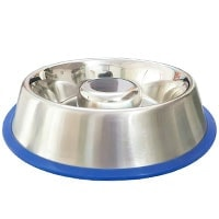 Mr Peanuts SLow Feeder Top Pick - Best Stainless Steel Slow Feed Dog Bowl