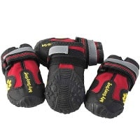 My Busy Dog Anti-Slip rubber soled dog boots