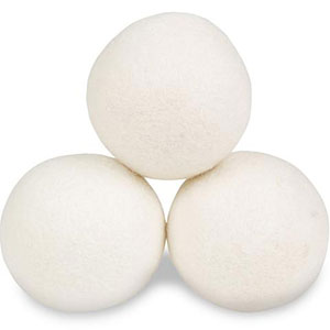 New Zealand Wool Dryer Balls - Winner of best laundry pet hair remover