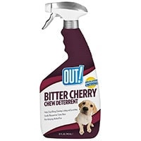 Out! Bitter Cherry Anti Chew Spray bottle
