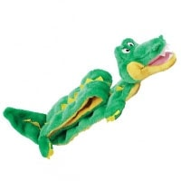 Outward Hound Ginormous Gator Squeaker Mat - best squeaky plush dog toy