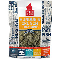 Plato Pet Prodcts Hundur's Crunch Jerky Dog Treats made from cod skin