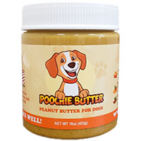Poochie Butter - All Natural Peanut Butter with extra ingredients for dog health