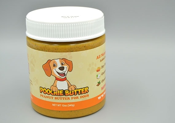 Poochie Butter Peanut Butter Winner of best dog specific peanut butter