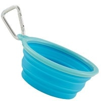 Prima Pets Collapsible Bowl Top Pick Best Silicone Travel Bowl