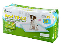 Richell Paw Trax Super Absorbent Doggy Pads 50 count - Runner Up Best Pee Pad For Dogs