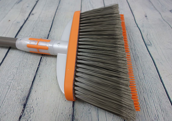 Rubber bristles sticking out of Bissel pet hair broom