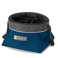 Ruffwear Quesncher Cinch Bowl Top Pick - Best Drawstring Collapsible Travel Bowl