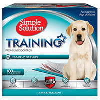 Simple Solution Training Premium Dog Pads - Runner up best pee pads for dogs