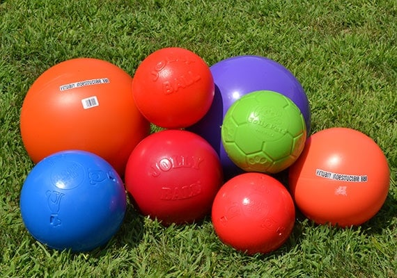 Some of the different heding balls we tested and reviewed to find the best