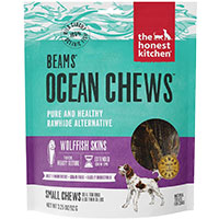 The Honest Kitchen Beams Ocean Chews Wolffish Skin Dog Treats