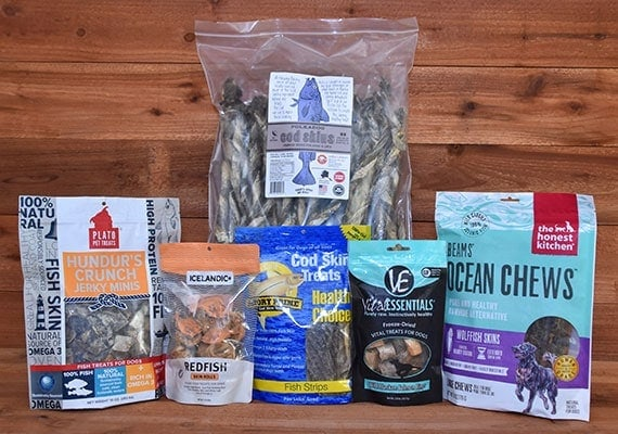 The best brands of fish skin chews for dogs that we tested and reviewed