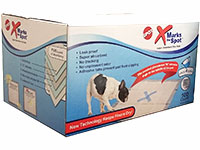 X marks the Spot Super Absorbent Pee Pads - Runner Up Best Pee Pad For Dogs